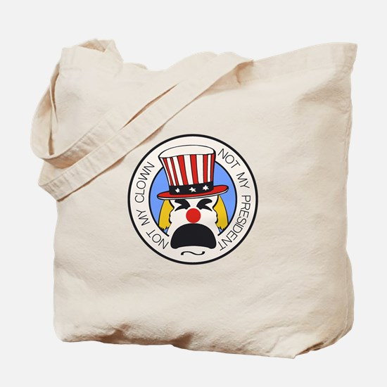 Not My Clown Tote Bag