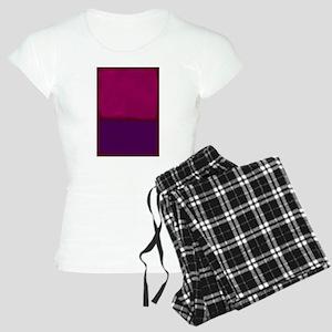 ROTHKO PURPLE HOT PINK Pajamas