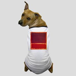 ROTHKO ORANGE RED Dog T-Shirt