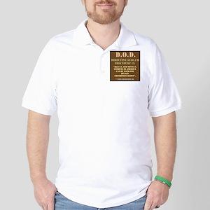 DOD Directive Golf Shirt
