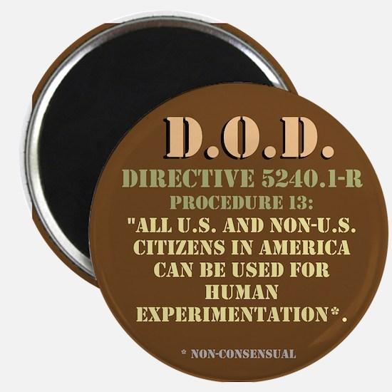 DOD Directive Magnet