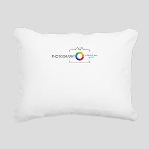 photography Rectangular Canvas Pillow