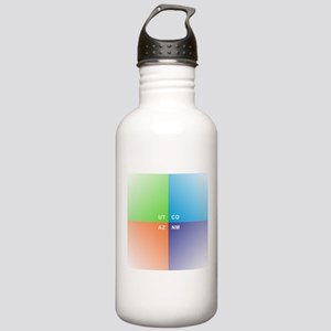 Four Corners - 4 Corne Stainless Water Bottle 1.0L