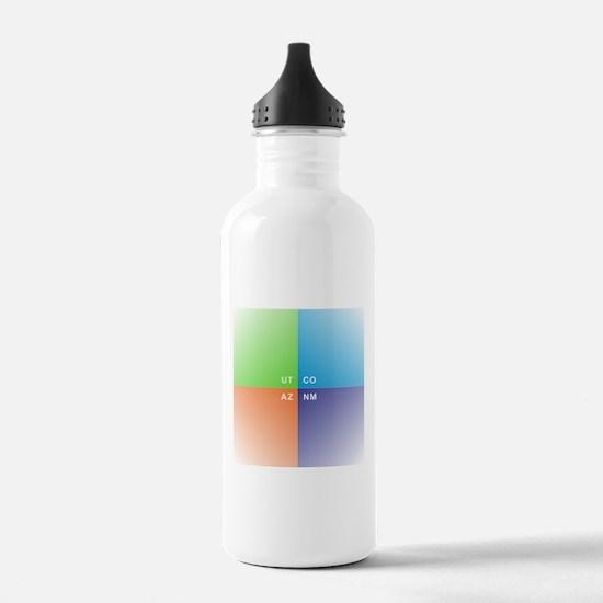 Four Corners - 4 Corne Water Bottle