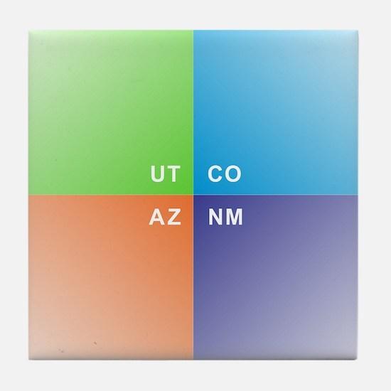 Four Corners - 4 Corners Tile Coaster