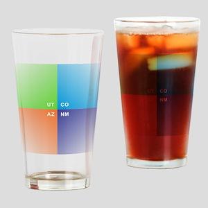 Four Corners - 4 Corners Drinking Glass