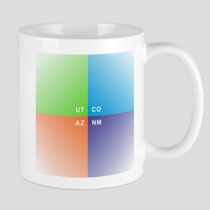 Four Corners - 4 Corners Mugs