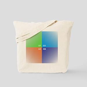 Four Corners - 4 Corners Tote Bag