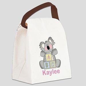 Kaylee's Sweet Koala Canvas Lunch Bag