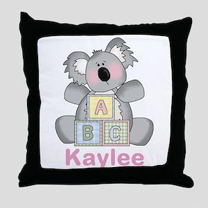 Kaylee's Sweet Koala Throw Pillow