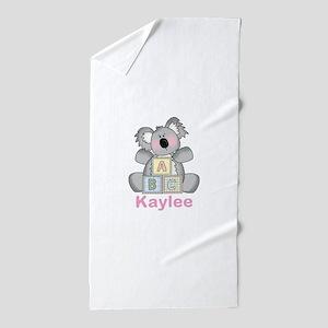 Kaylee's Sweet Koala Beach Towel