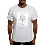 Coffee Ring Cartoon Light T-Shirt