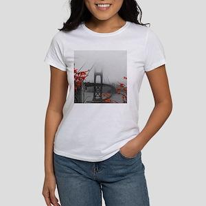 Golden Gate Bridge with Orange T-Shirt