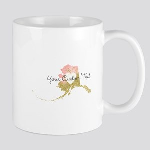 Personalized Alaska State Mugs