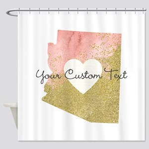 Personalized Arizona State Shower Curtain