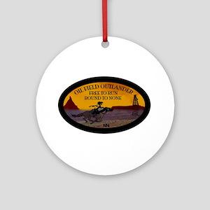 OILFIELD OUTLANDER Round Ornament