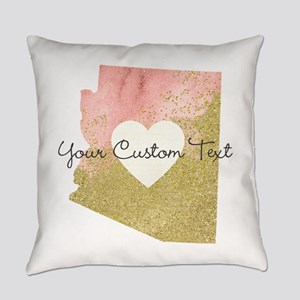 Personalized Arizona State Everyday Pillow