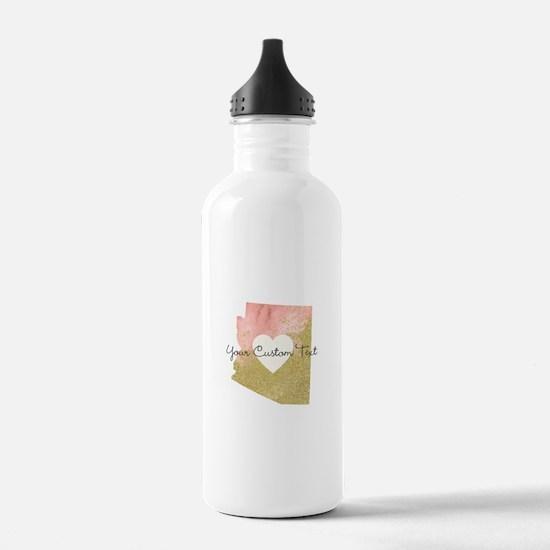 Personalized Arizona State Water Bottle