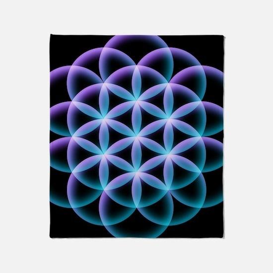 Cute Sacred geometry Throw Blanket