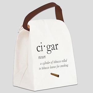 Cigar Definition Canvas Lunch Bag