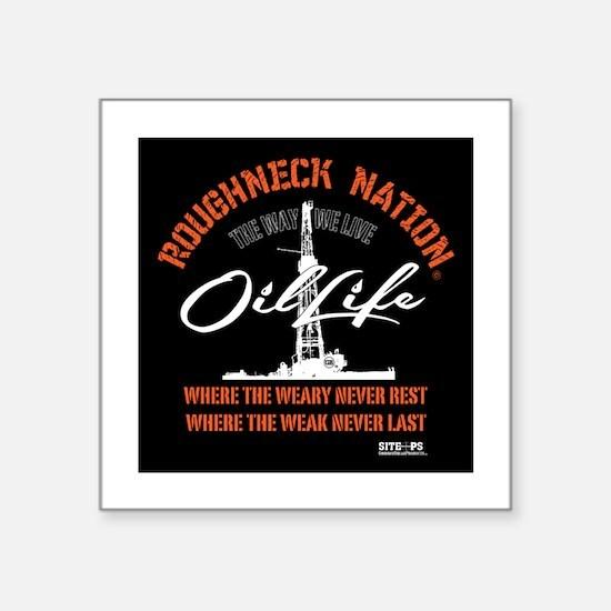 OIL LIFE ORANGE Sticker