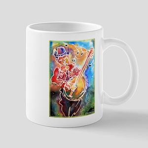 Banjo! Cowboy art! Mugs