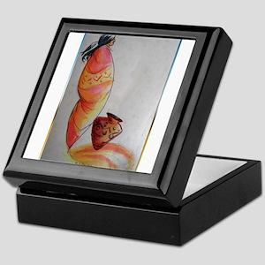 Native American, southwest art Keepsake Box