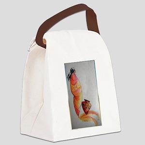 Native American, southwest art Canvas Lunch Bag