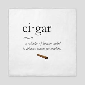 Cigar Definition Queen Duvet