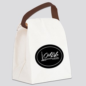 OIL LIFE Original Copyright Canvas Lunch Bag