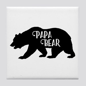 Papa Bear - Family Collection Tile Coaster