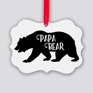 Papa Bear - Family Collection Picture Ornament