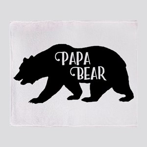 Papa Bear - Family Collection Throw Blanket