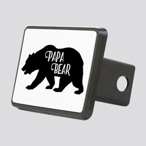 Papa Bear - Family Collect Rectangular Hitch Cover