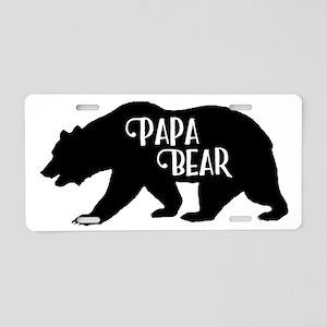 Papa Bear - Family Collecti Aluminum License Plate