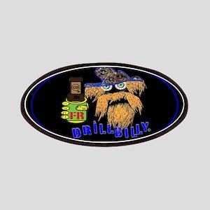 DRILLBILLY BLUE Patch