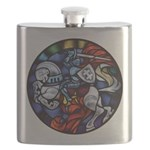 Lithuanian Vytis Coat of Arms Flask