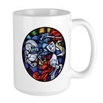 Lithuanian Vytis Coat of Arms Large Mug