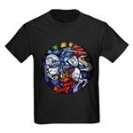 Lithuanian Vytis Coat of Arms Kids Dark T-Shirt