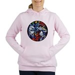 Lithuanian Vytis Coat of Women's Hooded Sweatshirt