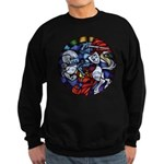 Lithuanian Vytis Coat of Arms Sweatshirt (dark)