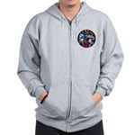 Lithuanian Vytis Coat of Arms Zip Hoodie