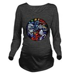 Lithuanian Vytis Coa Long Sleeve Maternity T-Shirt