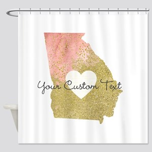 Personalized Georgia State Shower Curtain
