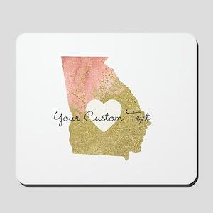 Personalized Georgia State Mousepad