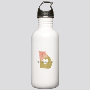Personalized Georgia State Water Bottle