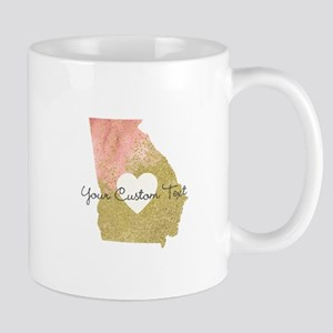 Personalized Georgia State Mugs