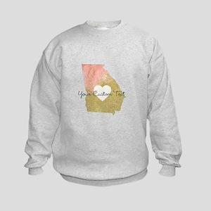 Personalized Georgia State Sweatshirt