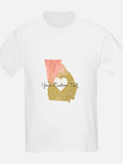 Personalized Georgia State T-Shirt