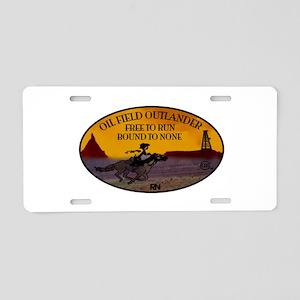oilfield outlander Aluminum License Plate